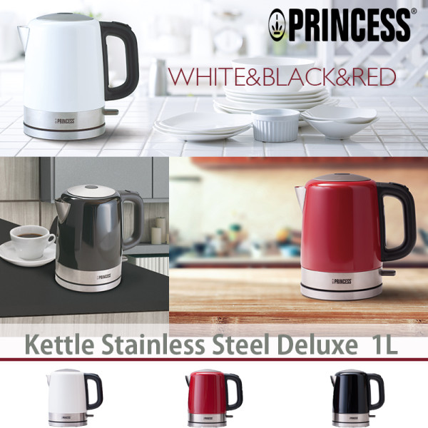 Kettle Stainless Steel Deluxe 1L(ケトルステンレススティールデラックス )/PRINCESS