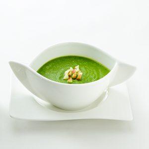 ほうれん草とりんごのスープ(冷製)