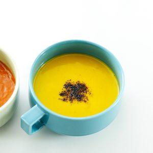 カボチャのココナッツミルクスープ(温製)