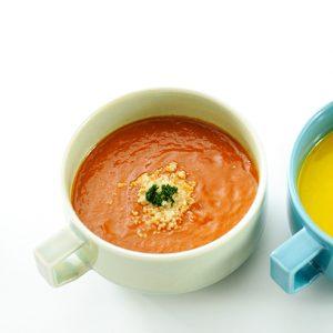 赤パプリカのスープ(温製)
