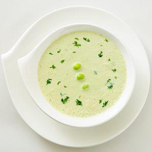 枝豆と豆腐のスープ(冷製)