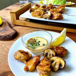 鶏肉のマヨポンダレ