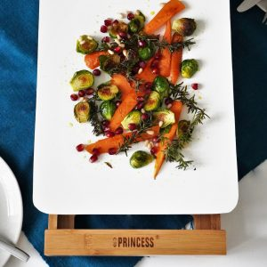 にんじんと芽キャベツのグリルサラダ