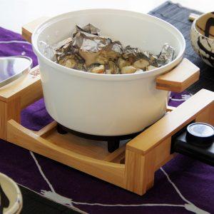 牡蠣の山椒の実蒸し