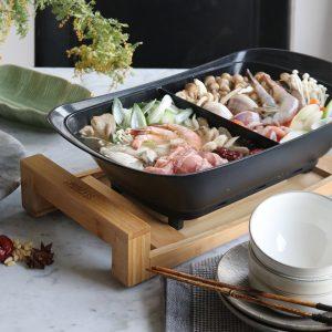 きのこと海鮮の薬膳火鍋