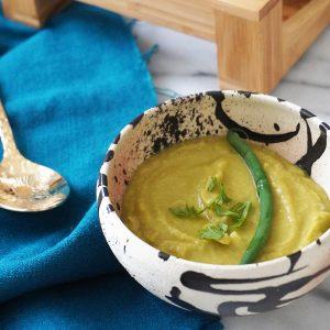 レンズ豆のスパイシースープ