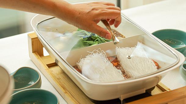 麻婆豆腐&えびと春雨の旨煮