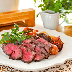 ローストビーフ&蒸し野菜