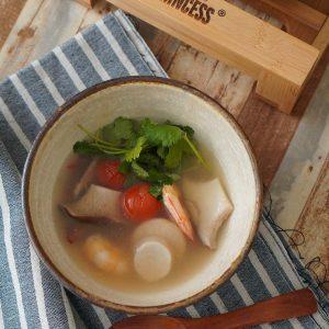 トムヤンクン風スープ