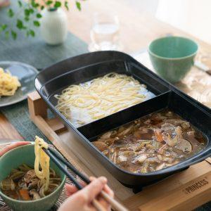 サバ缶温つけ麺