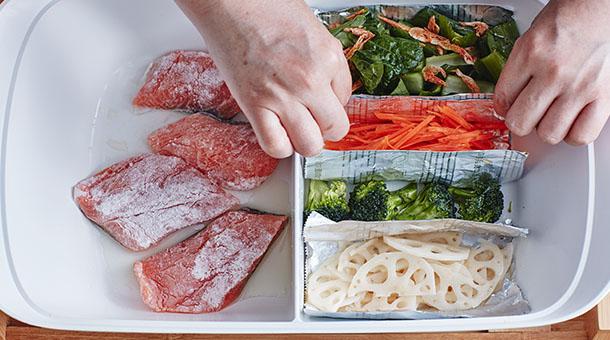 鮭の照り焼き弁当